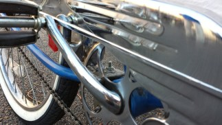 Blue and Chrome detail 2