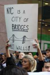 NYC is a city of bridges, not walls!