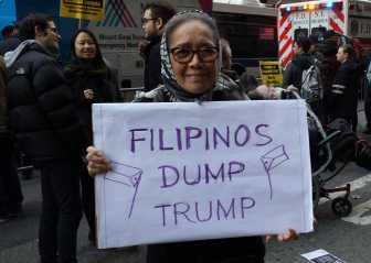 Filipinos Dump Trump