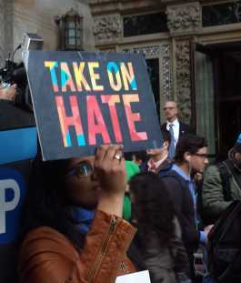 Take on hate