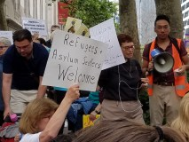 Refugees + Asylum Seekers Welcome