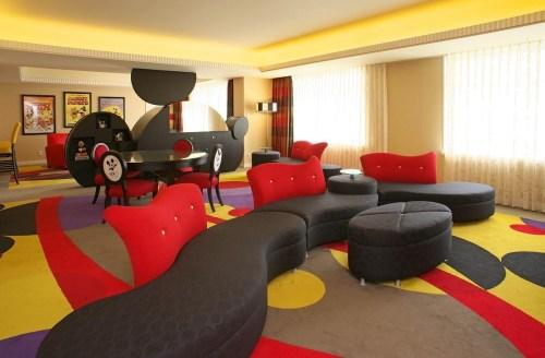 ミッキーズ・ペントハウス・スイート(ディズニーアンバサダーホテル )(c)Disney