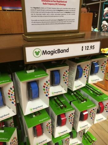 MagicBand単品でも購入可能