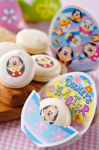 マカロン(チョコレートガナッシュ) 1個380円  (c)Disney