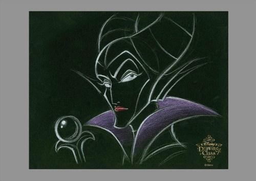 ディズニードローイングクラス(マレフィセント) (c)Disney