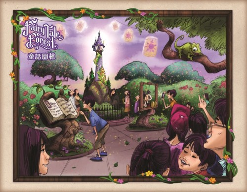 FairyTale Forest - Overall Art As to Disney artwork, logos and properties:©Disney