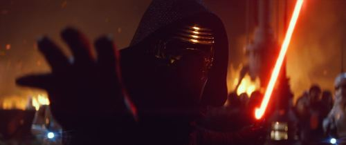 Kylo Ren from Star Wars: The Force Awakens (c)Disney