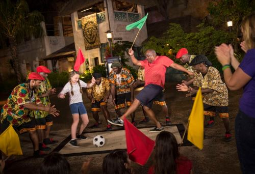 Harambe Wildlife Parti at Disney's Animal Kingdom at Night (c)Disney