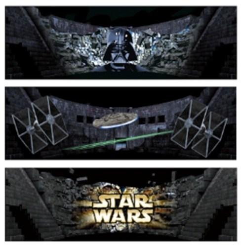 『スター・ウォーズ 果てしなき銀河の旅』 イメージ図 TM & © 2016 Lucasfilm Ltd. All rights reserved.  Used under authorization.