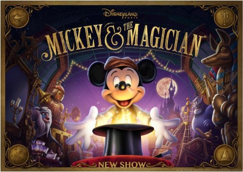 """Guests will be able to enjoy """"Mickey and the Magician"""", a brand new show at Disneyland Paris specially created for Walt Disney Studios Park, starring the mouse who started it all. (c)Disney"""