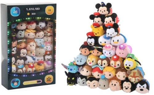 """TSUM TSUM 3周年記念ボックス  1万8000円 ©Disney ©DISNEY. Based on the """"Winnie the Pooh"""" works by A.A.Milne and E.H. Shepard."""