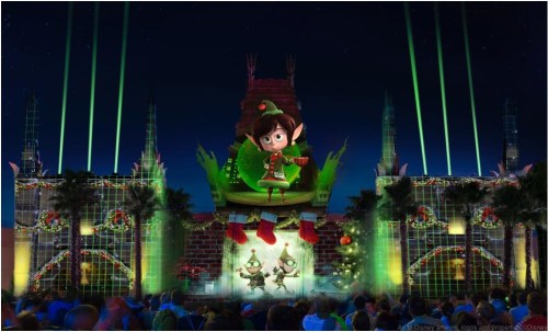 The 2016 holidays season brings a all-new nighttime spectacular to Disney's Hollywood Studios with