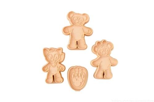 クッキー型セット 1300円 (c)Disney