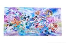 ワイドバスタオル 3400円 (c)Disney