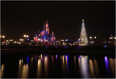 Shanghai Disney Resort Kicks Off Magical and Distinctive Disney Holiday Season (c)Disney