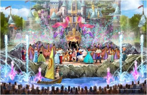 Castle Daytime Show (c)Disney