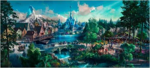 Frozen themed area (c)Disney
