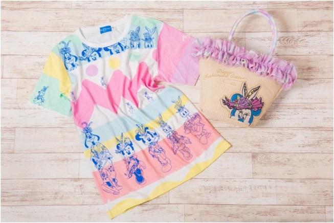 Tシャツ 2500円/トートバッグ 4300円 (c)Disney