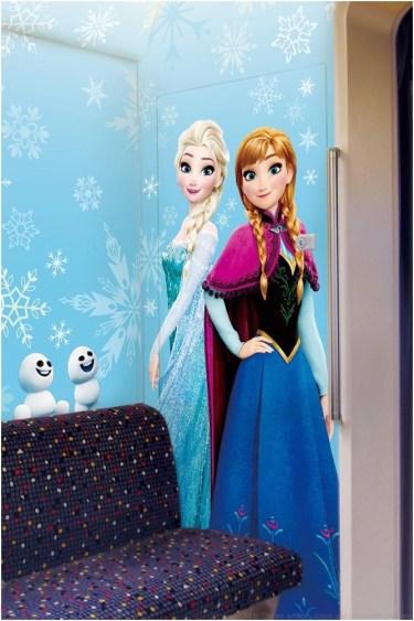 アナとエルサのスノークリスタル・ライナー(内装) (c)Disney