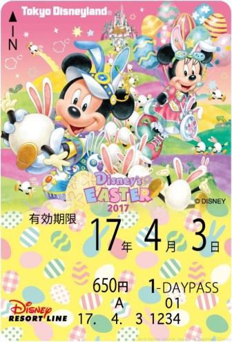 「ディズニー・イースター」 フリーきっぷ (c)Disney