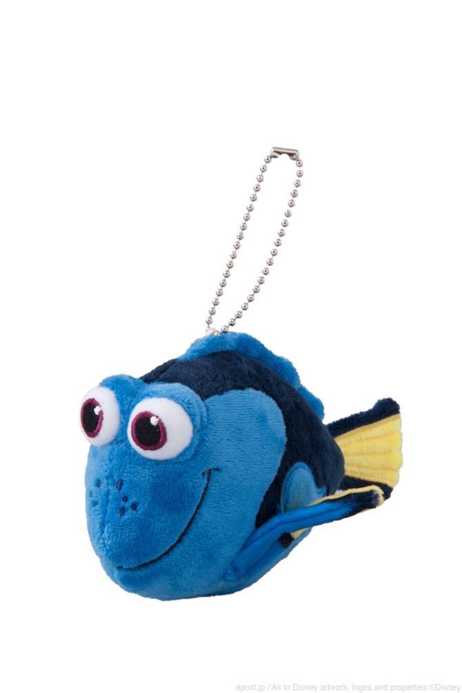 ぬいぐるみバッジ(ドリー) 1200円 (c)Disney/Pixar