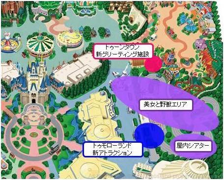 開発エリア  (c)Disney
