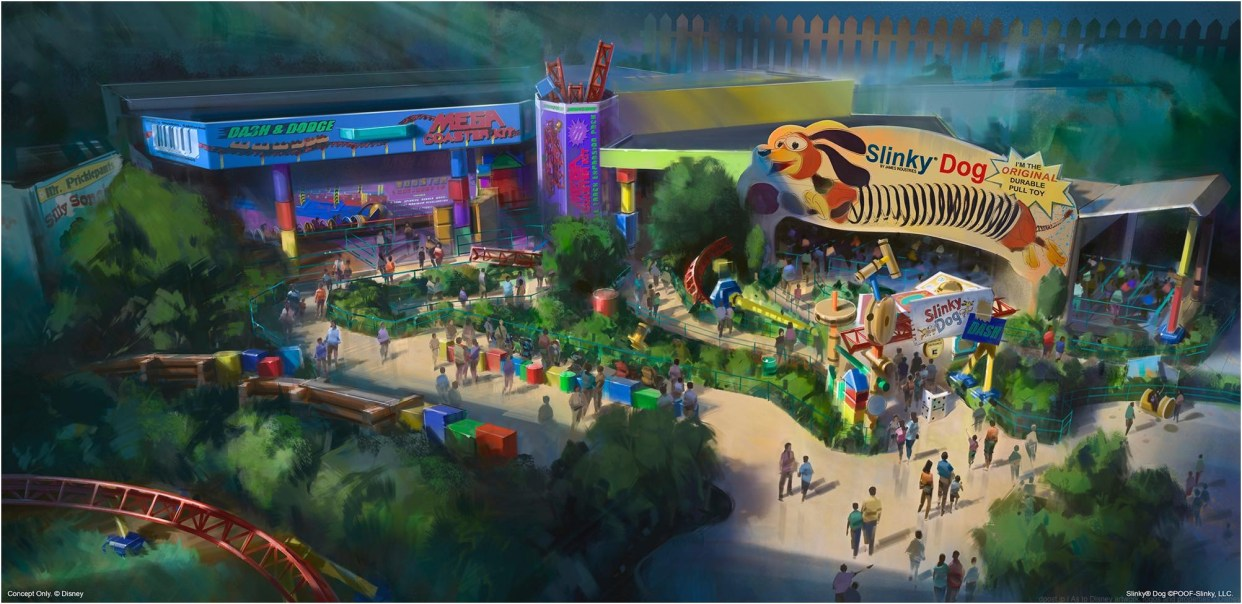 During D23 Expo 2017, Walt Disney Parks & Resorts Chairman Bob Chapek announced the summer 2018 opening of Toy Story Land at Disney's Hollywood Studios at Walt Disney World Resort.