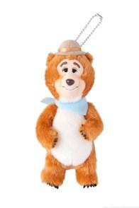 ぬいぐるみバッジ 「カントリーベア・シアター」の ウェンデル 2000円 (c)Disney
