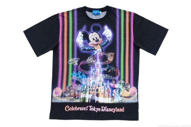 Tシャツ S、M、L、LL: 各 2900円/ 3L: 3300円 (c)Disney