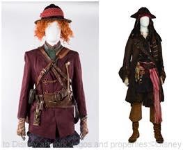 『アリス・イン・ワンダーランド/時間の旅』 『パイレーツ・オブ・カリビアン/最後の海賊』 ジョニー・デップのアイディアが詰まった衣裳と小道具 (c)Disney