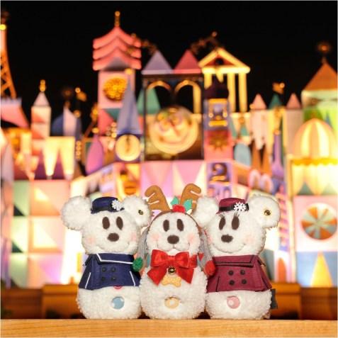 """東京ディズニーランド:スノースノー""""メイク。イット・マイン""""ベーシックセット2200円/パーツ各400円 (c)Disney"""