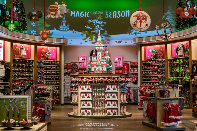 Signature displays within the reimagined World of Disney will rotate seasonally, giving the store a fresh new look. This holiday section is part of the Oct. 27, 2018, grand reopening of the anchor store at Disney Springs at Walt Disney World Resort in Lake Buena Vista, Fla. (Matt Stroshane, photographer)