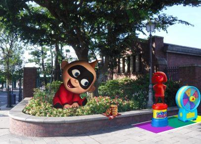 Mr.インクレディブルシリーズがテーマのフォトロケーション (c)Disney/Pixar