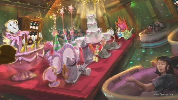 """動画:東京ディズニーランドに2020年春にオープン予定!新アトラクション「美女と野獣""""魔法のものがたり""""」メイキング映像/Tokyo Disneyland より"""