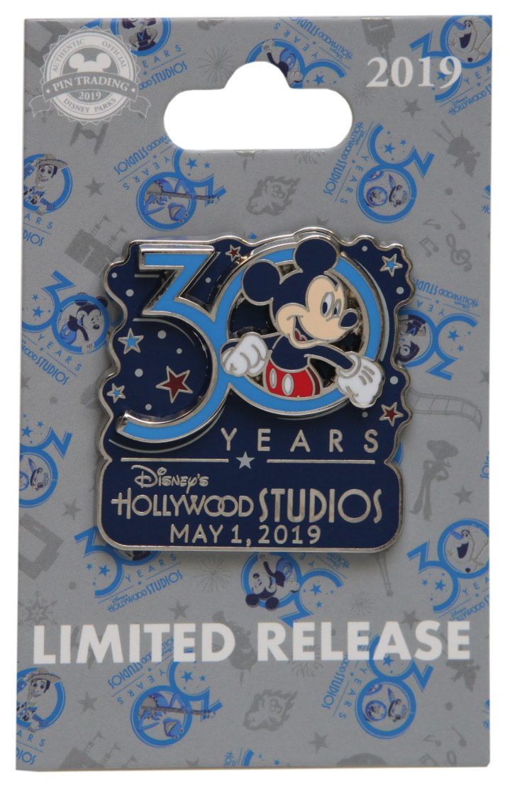 Merchandise inspired by the 30th anniversary of Disney's Hollywood Studios will be available at the Studio 1 Company Store in Lake Buena Vista, Fla., starting May 1, 2019. Guests will find unique offerings for the entire family, from stylish 30th anniversary apparel and accessories to keepsakes and collectibles such as commemorative pins, special MagicBands, decorative ornaments and more. (Steven Miller, photographer)