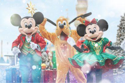 Christmastime Ball_Mickey, Minnie & Pluto