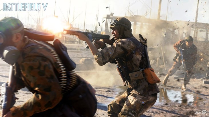 "『Battlefield V』Gamescom2018に向けた最新トレーラーが公開。本作の世界観を味わえるほか、""バトルロイヤルモード""と思われる映像も"