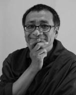 Dzogchen Ponlop Rinpoche B/W wearing robes