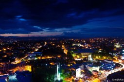 Night view of Davao City