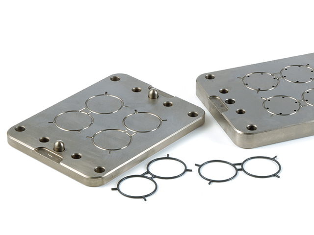 Motorsport rubber seals and tooling for Mercedes