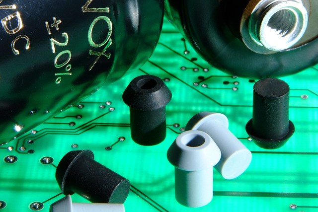Safety plugs for Aerovox Capacitors