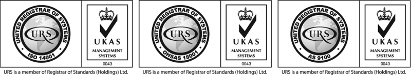 AS, ISO and OHSAS icons