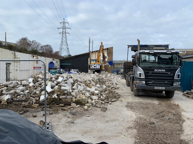 DP Seals Old Aerospace and Subsea Units Reduced to Rubble
