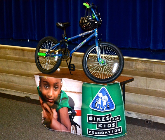 Dps Shakespeare Festival: Bikes For Kids Foundation Provides 40 DPS Students With