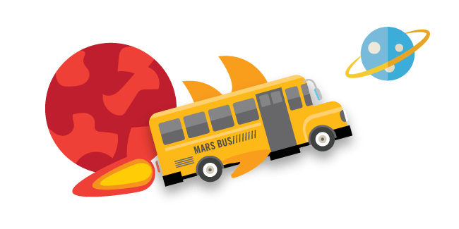 Mars Bus Experience