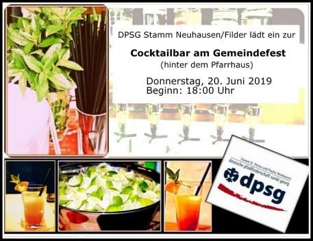 cocktailbar einladung 2019