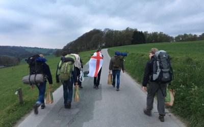 Hike im April