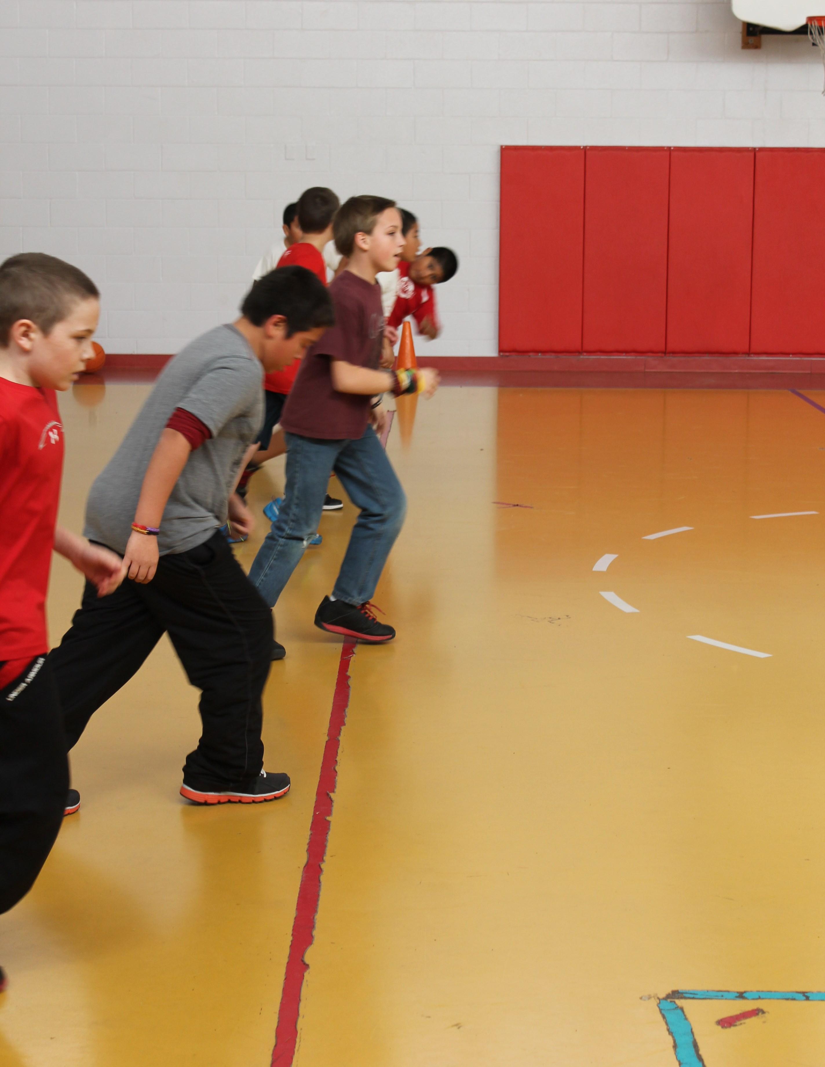 Dps Elementary Students Take Fitnessgram Test