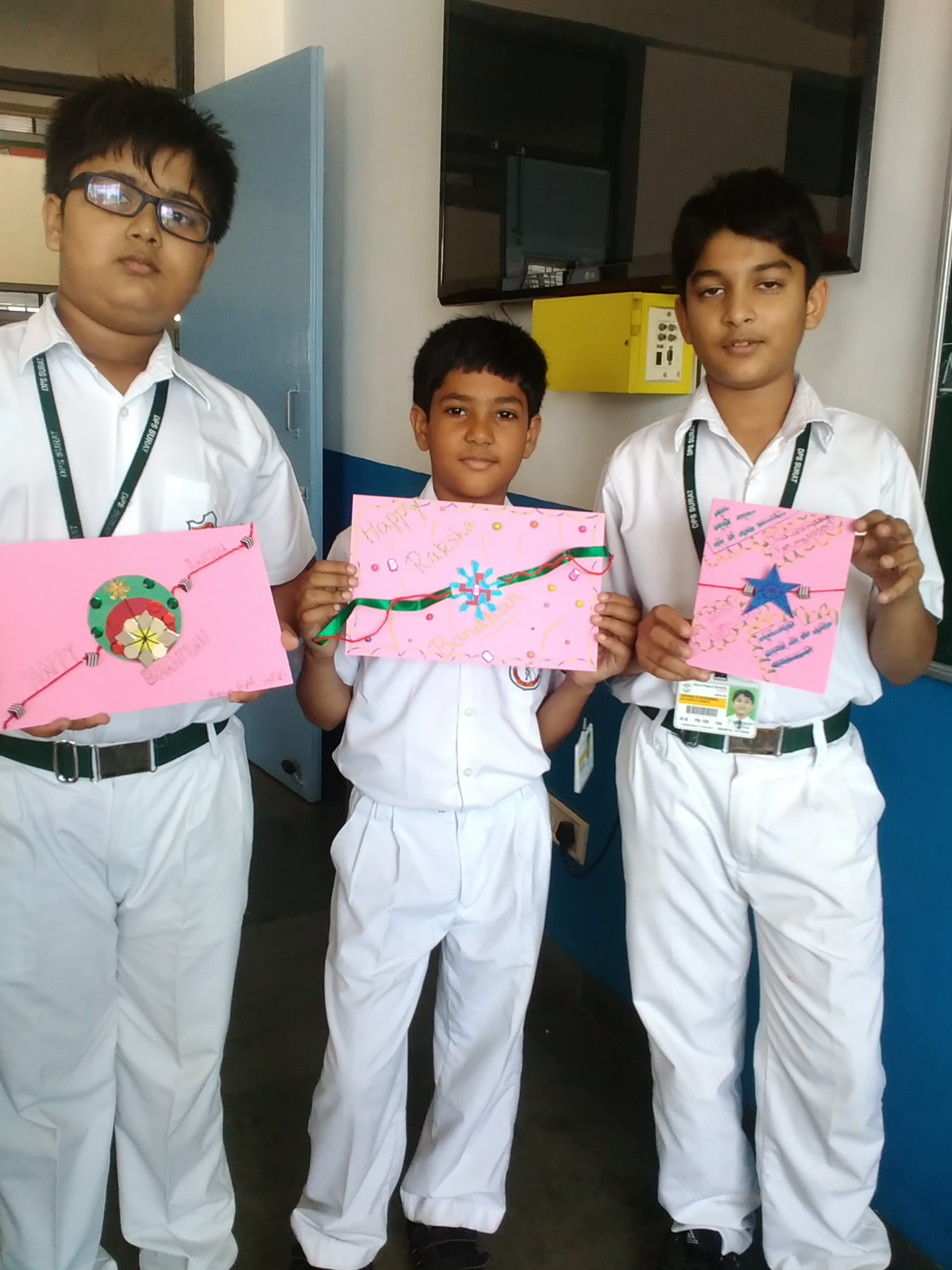 Rakhi Greeting Card Making Competition