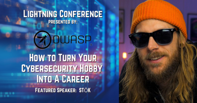 """Netsparker Supports the OWASP Lightning Event """"How to Turn your Cybersecurity Hobby into a Career – An Introduction to Bug Bounties"""""""